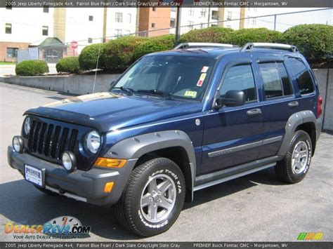 2005 Jeep Liberty Renegade 4x4 Patriot Blue Pearl Dark