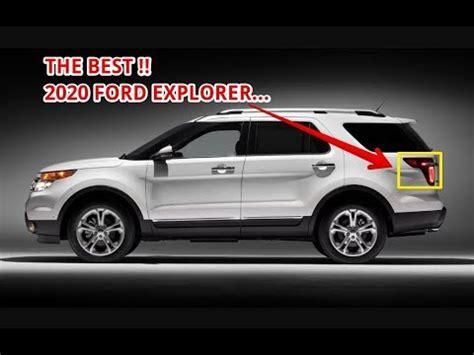 HOT NEWS!! 2020 Ford Explorer Full Review - YouTube