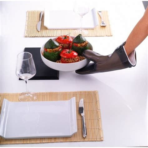 gant cuisine silicone gant de cuisine silicone noir mastrad maspatule com