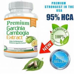 Pure Weight Loss Garcinia Cambogia Extract 95  Hca Diet Pills
