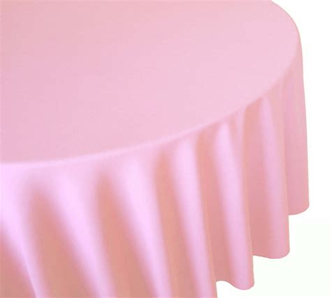 light pink table linens linen general rental