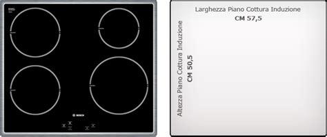 dimensioni piani cottura recensione piano cottura ad induzione bosch pie645q14e by