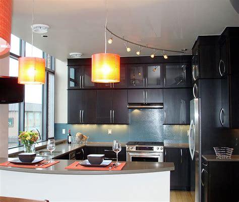 orange pendant lights kitchen orange pendants for the contemporary kitchen ideas and 3765