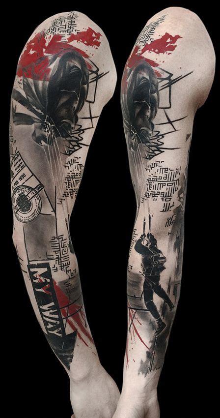 tattoo gallery trashpolka tattoos  volko merschky