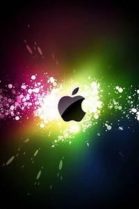 Coloridos rayos de Apple iPhone 8,7,6,5,4,3GS Fondos ...