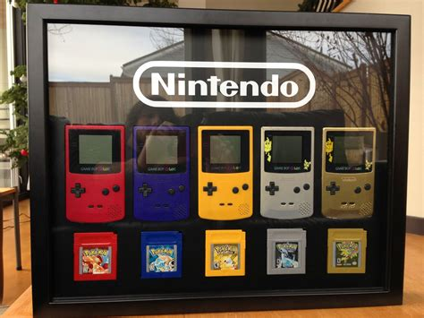 Christmas Present Gameboy Pokemon Nintendo Room