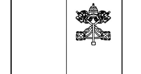Holy See  Vatican City Coloring Page Geography