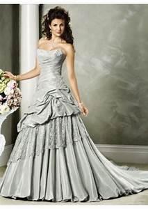 robe de mariee gris perle With robe de mariée grise