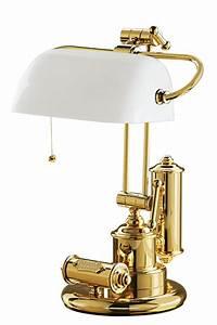 Lampe De Bureau Marine Laiton