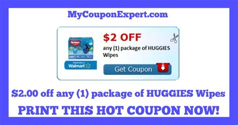 check it out new printable coupon 2 00 any 1 package of huggies wipes