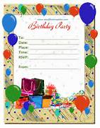Birthday Invitation Templates Save Word Templates Posts Related To Blank Birthday Invitations Template Free Provides Card Offices Birthday Party Youve Done All File Size Kb Birthday Invitation Templates Word Excel PDF Templates