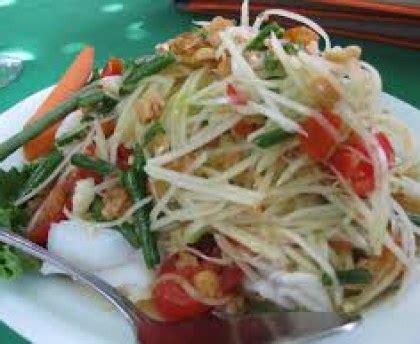 comment cuisiner des tomates vertes salade de papaye verte recette de salade de papaye verte