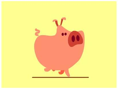 Animated Gifs Pig Animation Dribbble Funniest Week