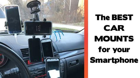 place  mount  smartphone   car car
