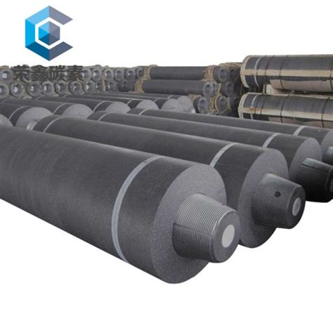 china graphite electrode rp hp shp uhp mm mm  eaf lf furnace steelmaking china