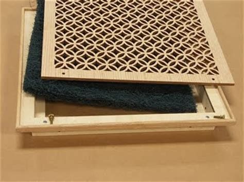 decorative return air grilles with filter design in the woods decorative air grilles