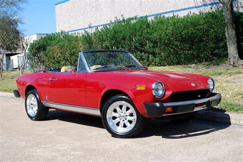 fiat spider 1978 1978 fiat 124 spyder convertible