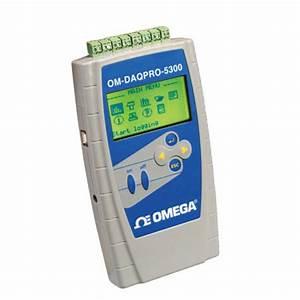 Om-daqpro-5300  Registrador De Dados Manual Port U00e1til