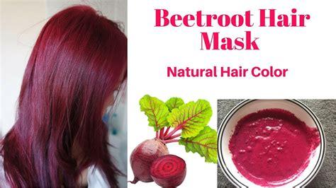 natural beetroot hair mask  long silky soft