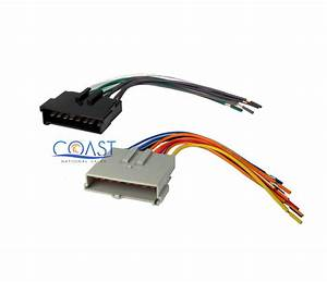 Car Aftermarket Radio Stereo Wiring Harness For 1985