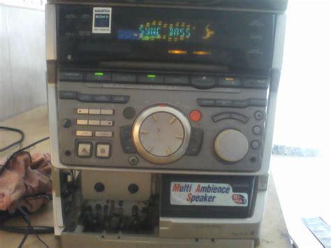 solucionado sony no hcd grx80 yoreparo