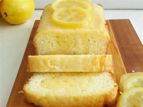 gateau citron faible calories cake au citron light