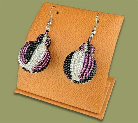 Bobble Earrings earrings bobble bobble earrings purple silver black