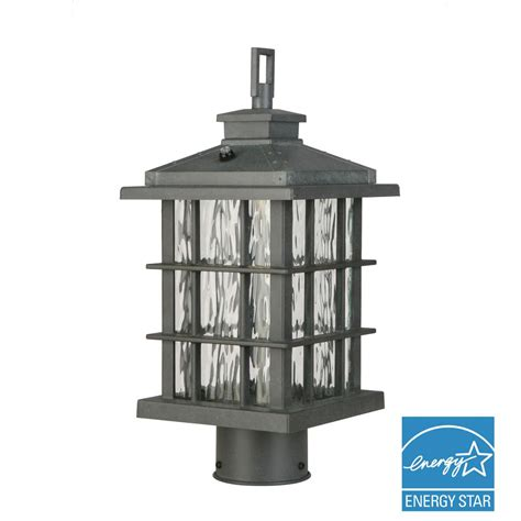 home depot l post outlet home decorators collection brimfield 3 light outdoor aged