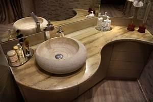 Plan De Travail Salle De Bain : cr ation et installation d 39 un plan de travail pour salle ~ Premium-room.com Idées de Décoration