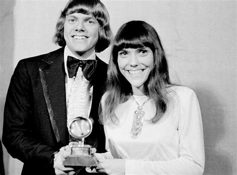 We've only just begun, top of the world, (they long to be) close to. Carpenters: Songs, albums, name, sales and all the facts
