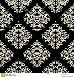 Damask Wallpaper Stock Vector - Image: 40667713