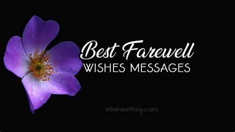 farewell wishes messages   farewell quotes wishesmsg
