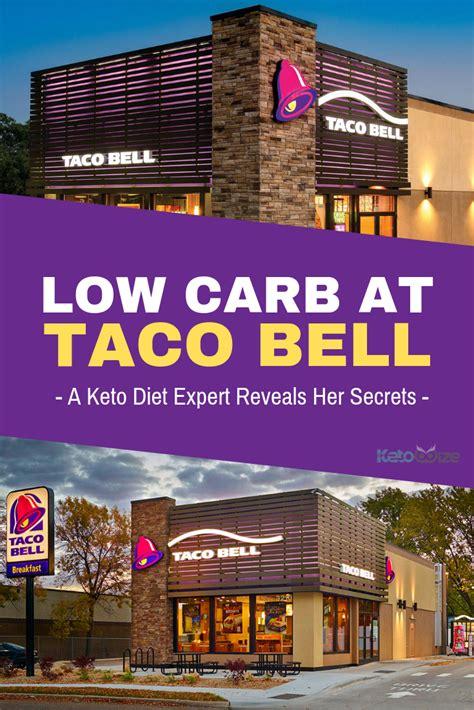 bell taco carb low keto diet meal food reveals secrets expert wisdom fast menu options gluten fourth breakfast