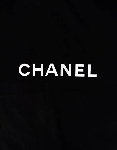 chanel logo black canvas garment bag  coat cc velvet hanger set  stdibs