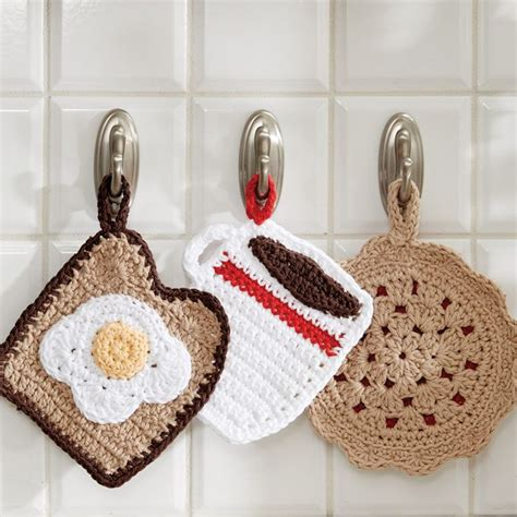 free crochet patterns for kitchen accessories 383 best crochet images on 8269