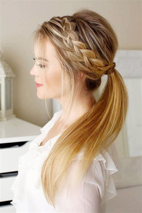Easy Hairstyles For Hair Day by 25 Best Easy Hairstyles Ideas On Simple