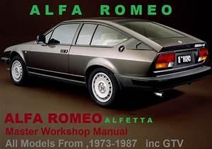 Alfa Romeo Alfetta Gtv 1973-1987 Workshop Service Manual Pdf