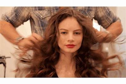 Curls Messy Hair Curl Gifs Face Away
