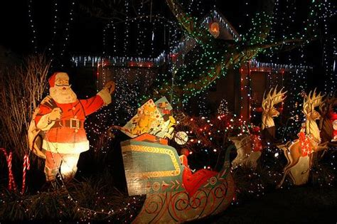 vintage outdoor christmas decorations christmas pinterest