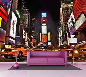 Poster Mural Grand Format : poster mural geant new york ides ~ Carolinahurricanesstore.com Idées de Décoration