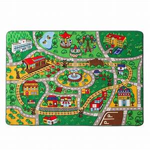 kids rug street map with road fun play rug children area With balkon teppich mit tapete china