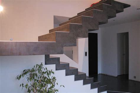 beton cire sur escalier beton escaliers b 233 ton cir 233 matisse