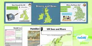 Geography  The Uk  Rivers And Seas Year 3 Lesson Pack 2