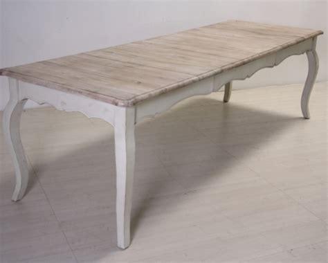 tavolo on line tavolo bianco decapato shabby chic mobili provenzali