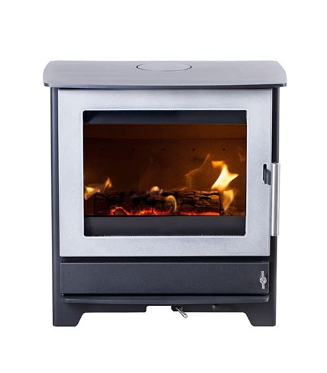 Electric Fireplace On Wall by Heta Inspire 45 Enamelled Wood Burning Stove