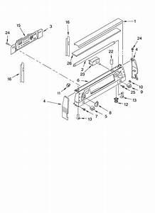 Kitchenaid Kerc507hwh3 Electric Range Timer