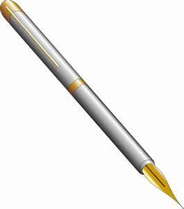 Clipart - Fountain pen