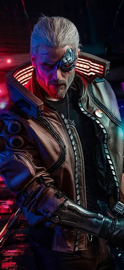 Cyberpunk 2077 Iphone Witcher