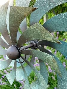 Windspiel Garten Metall : windspiel gartenstecker windrad garten figur metall bl ten ~ Lizthompson.info Haus und Dekorationen