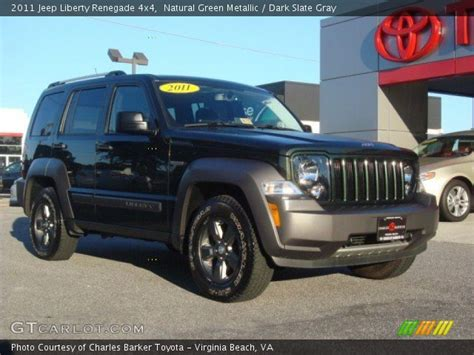 green jeep liberty renegade natural green metallic 2011 jeep liberty renegade 4x4